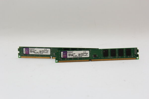 Kingston 8GB DDR3 Kit 1333MHz PC3-10600 PC Speicher RAM KVR1333D3N9K2/8G (2x 4GB)