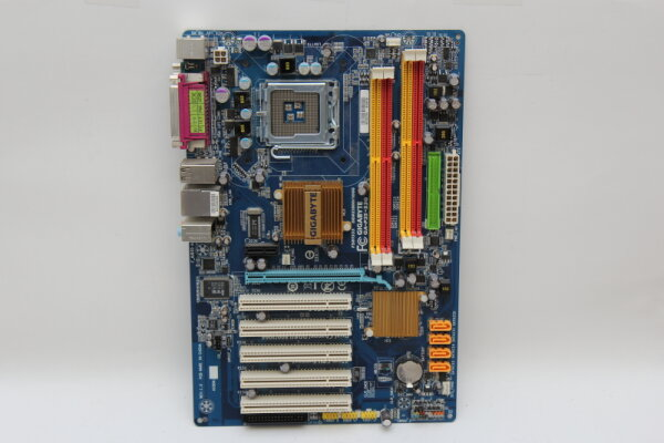 Gigabyte GA-P35-S3G ATX Mainboard Sockel 775 Intel® P35 Chipsatz PCIe DDR 2 USB2 SATA IDE ohne Blende geprüft