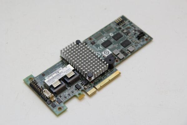 LSI/IBM 2-Port 256MB SAS 6GBit/s PCIe x8 Raidcontroller ohne Kabel und ohne Blende L3-25121-80C