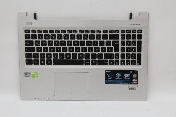 Asus S56C Handauflage Topcase mit Tastatur DE 13GNUH1AM071-1